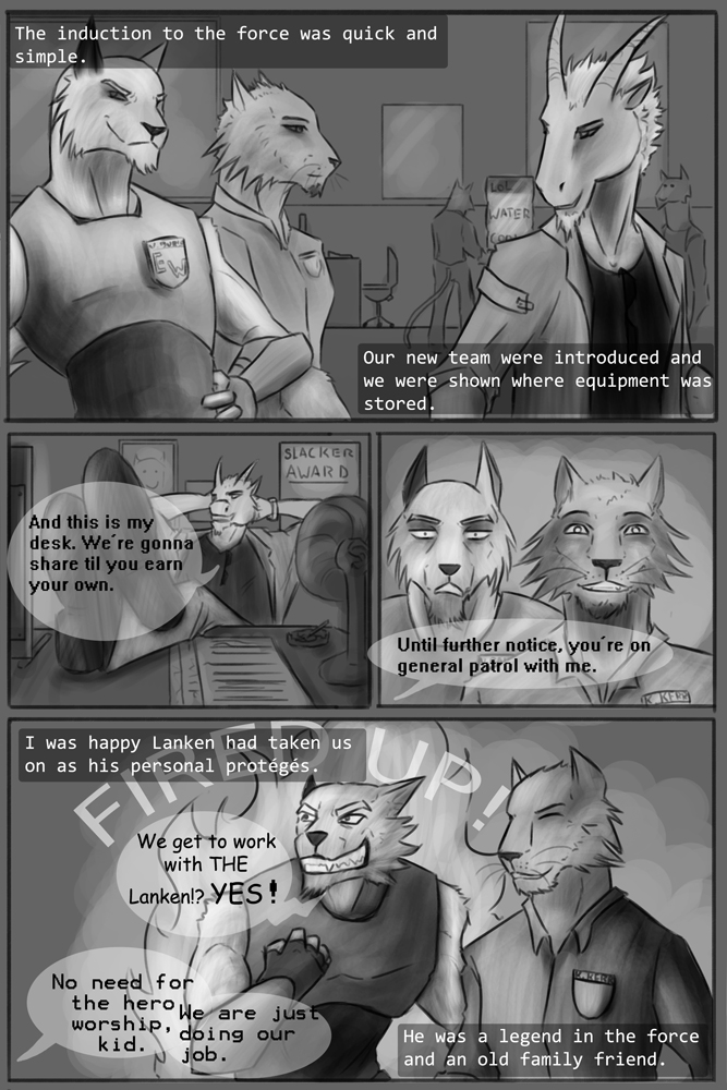 Page five - A squad is born