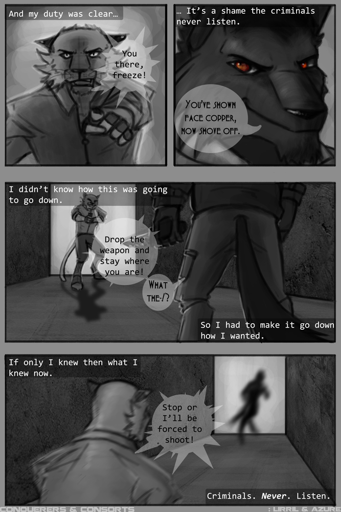 Page eleven - One day they'll learn